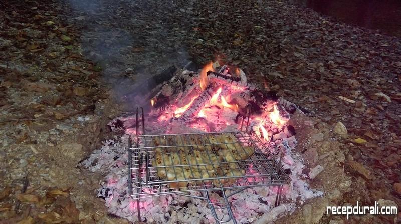 Kendinden Ayaklı Pratik Pişirme Izgarası